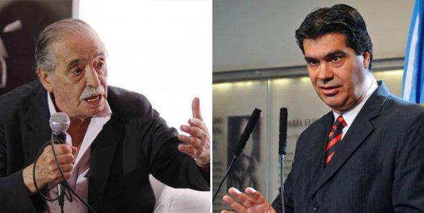 """Strassera: """"Capitanich es el Goebbels de la Argentina, con la diferencia de que Goebbels era inteligente"""""""