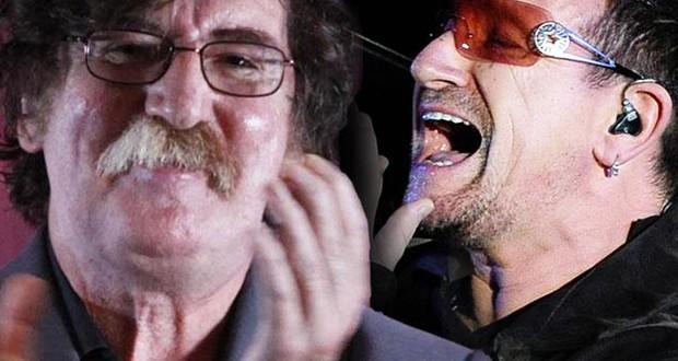 Charly García cantó 63 años y Bono le mandó un video
