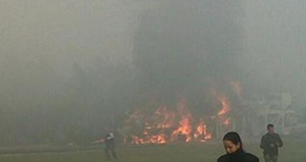 Choque múltiple e incendio en la Ruta 9, 2 muertos
