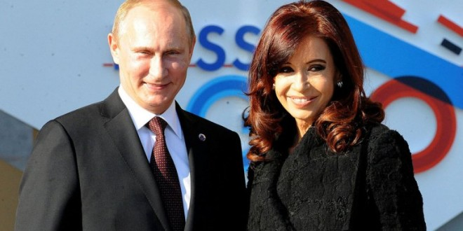 Cristina viaja a Rusia