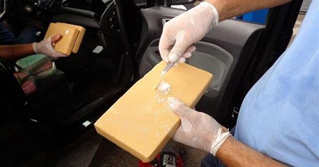AFIP evita millonario ingreso de pasta base y cocaína