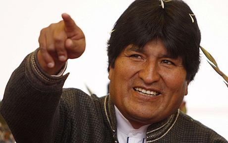 Evo Morales culpó al capitalismo por el calentamiento global