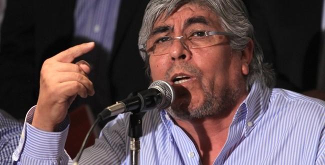 """Hugo Moyano """"Las paritarias tienen que ser libres, pero mirando el desarrollo de la economía"""""""