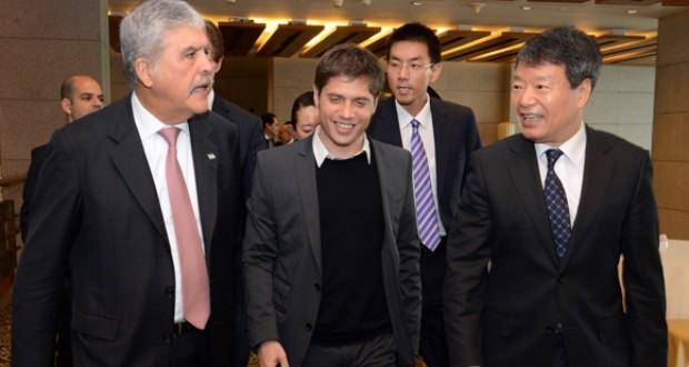 """Kicillof: """"Hemos asegurado un futuro para la relación entre Argentina y China"""""""