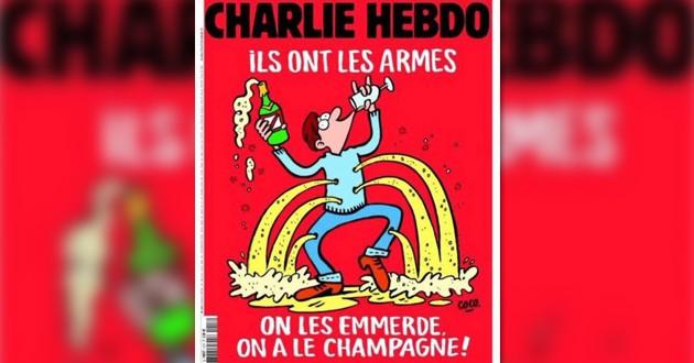 La tapa de Charlie Hebdo tras los atentados