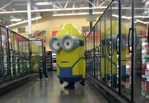 Los Minions en Walmart