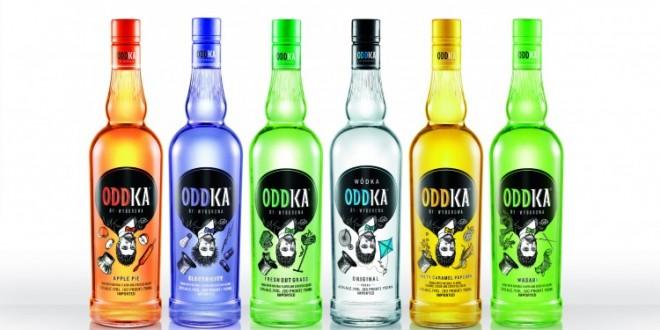 Oddka, la nueva línea de vodka de la marca polaca Wyborowa, desembarca en Argentina