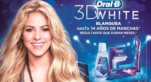Oral-B junto a Shakira