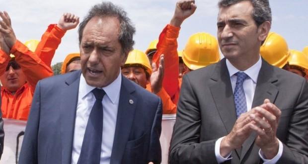 Randazzo recibió nuevos trenes y dijo que votará a Scioli