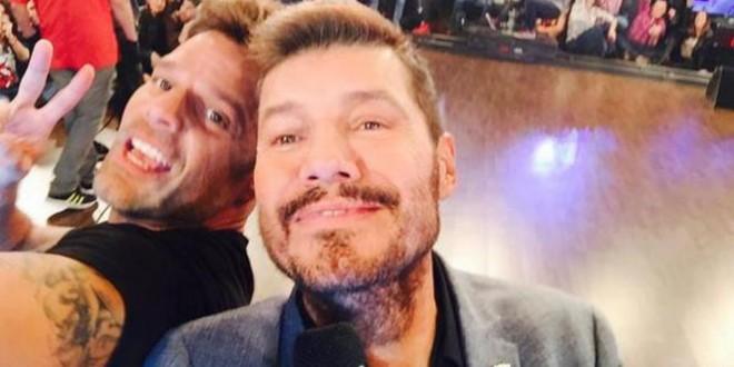 Ricky Martin en ShowMatch