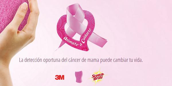 Scotch-Brite contribuye a la lucha contra el cáncer de mama