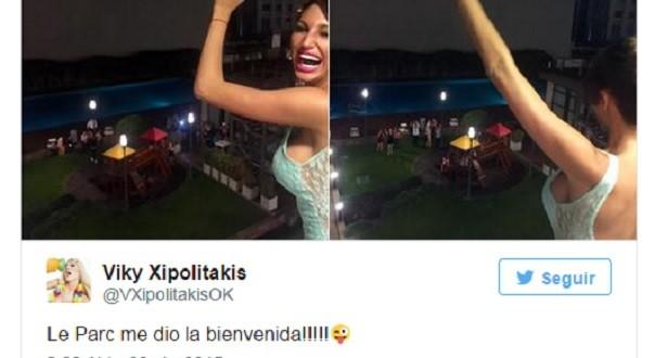 """Vicky Xipolitakis declarada """"Persona no grata"""" en Le Parc"""