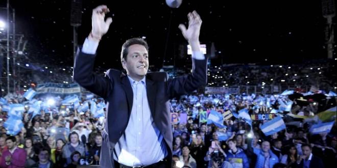 """Sergio Massa: """"Voy a ser presidente de la nación"""""""