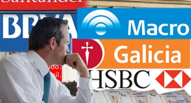 Los Bancos perderán $ 7.000 M por las nuevas medidas