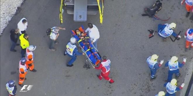 El español Carlos Sainz sufrió un fuerte accidente en Sochi