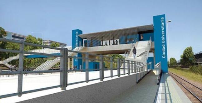 Inauguran la estación Ciudad Universitaria
