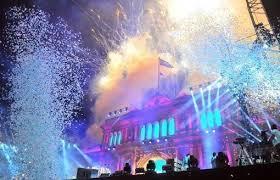 800 mil personas asistieron a la fiesta Patria en la Plaza