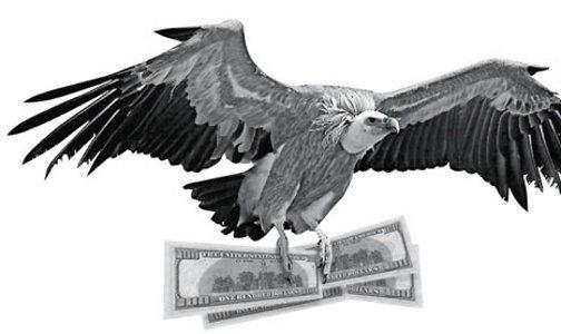 Los fondos buitres gastan más de u$s un millón en lobby