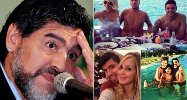 """Icardi: """"No me importa nada lo que opine Maradona"""""""