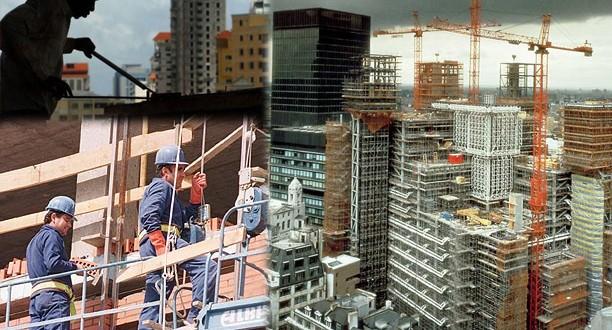 Volvieron a caer la industria y la construcción