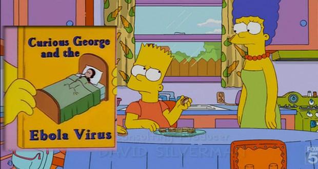 Los Simpson predijeron la epidemia de ébola