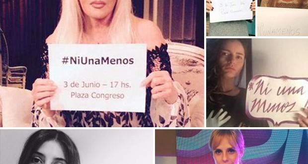 #NiUnaMenos: las famosas contra la violencia de género