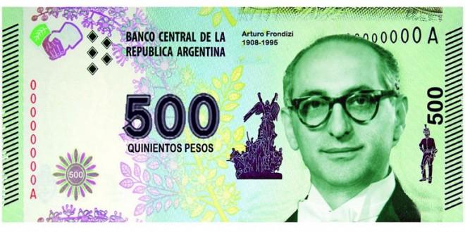 Emitirán el nuevo billete de 500 pesos en enero