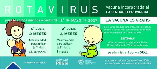 Vacunación contra el rotavirus