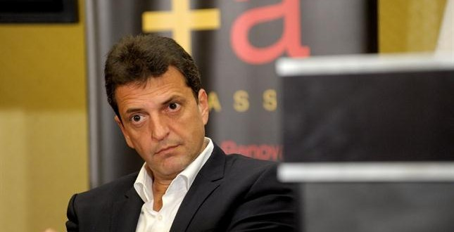 Sergio Massa : 'Queremos familias propietarias y no mendigas de crédito'