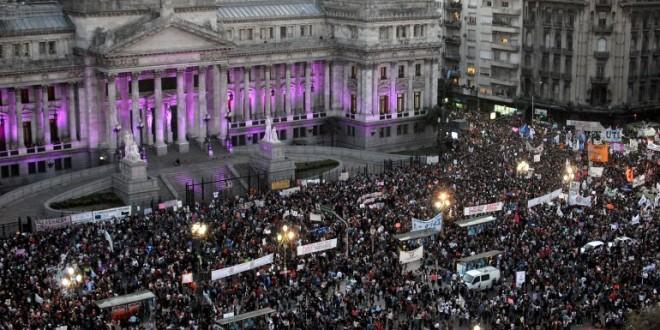 "#NiUnaMenos: Argentinos dijeron ""basta"""