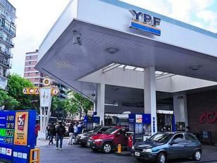 YPF subió 6,5% precio de las naftas