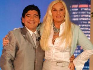Diego Maradona no demandará a Susana Giménez