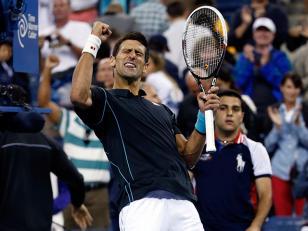 Djokovic venció a Federer y el jueves jugará contra Del Potro