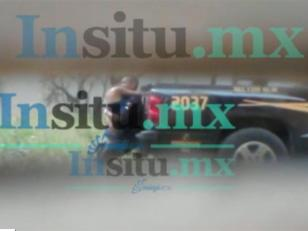 Echaron a un policía que fue filmado teniendo sexo en la vía pública en horario de trabajo