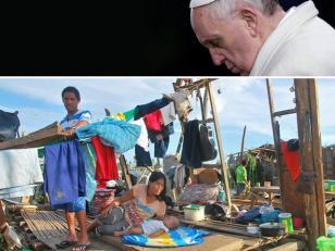 """Papa Francisco reza por las víctimas del tifón en Filipinas y pide """"ayuda concreta"""""""