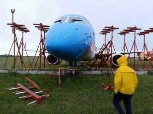 Ezeiza ya está operativo nuevamente tras despiste de avión