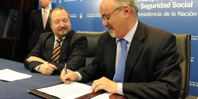 Tomada y Sabbatella se reunieron con los sindicatos por la continuidad de los puestos de trabajo del sector audiovisual