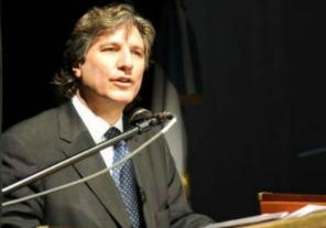 Boudou encabezó el acto de la Semana de la Policía Federal