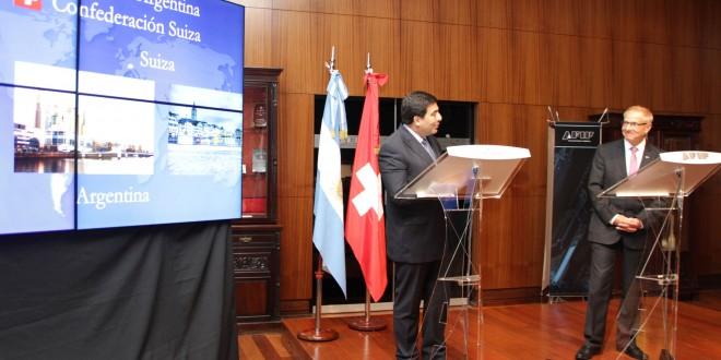 Argentina y Suiza acordaron el texto del convenio para evitar la doble imposición