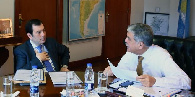 Julio De Vido se reunió con el gobernador de Santiago del Estero