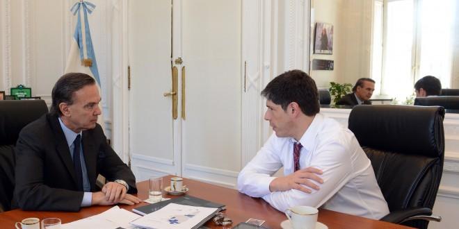 Abal Medina se reunió con el intendente de Villa María
