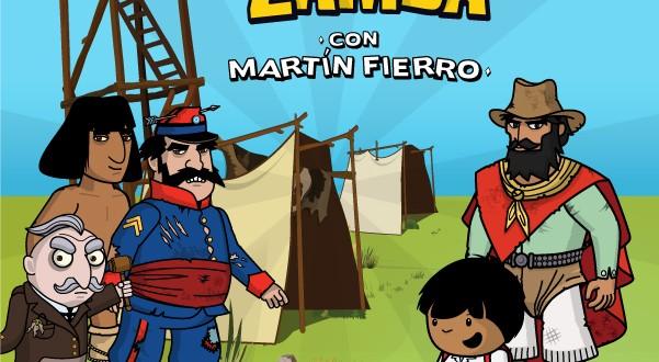 Zamba festeja el Día de la Tradición con Martín Fierro