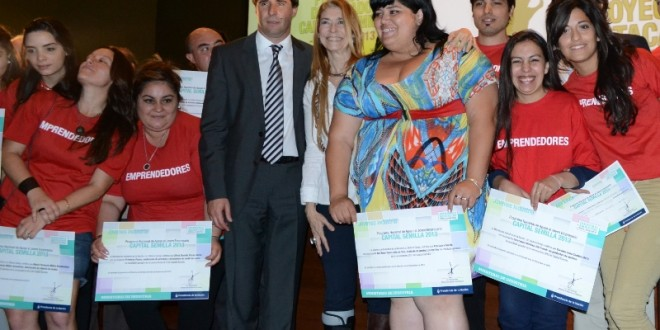 Débora Giorgi entregó más de $6,6 millones a emprendedores sanjuaninos