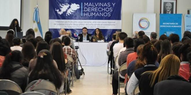 Jornada Malvinas y Derechos Humanos en la ex ESMA