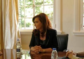 Cristina recibe a Randazzo en Olivos