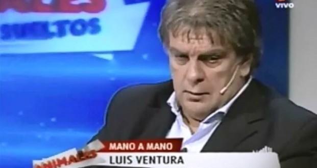 Video: Luis Ventura en Animales Sueltos