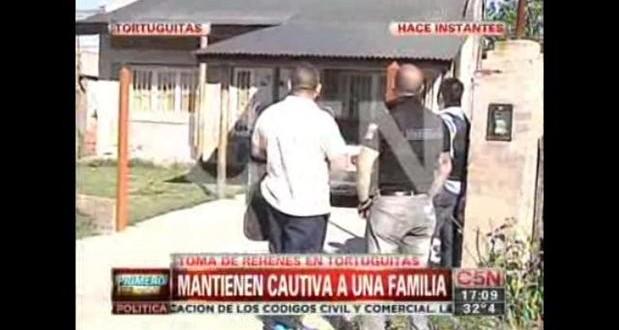 Rehenes en Tortuguitas: uno de los presos se fugó hace 2 meses de comisaría de Moreno
