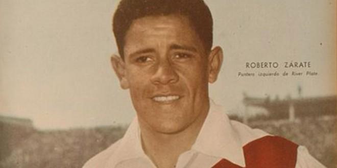 Murió Roberto Zárate,aquel delantero que jugó en River durante la década del 50
