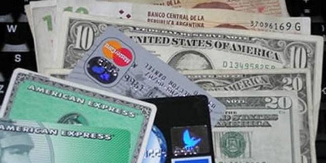 Nuevas medidas que afectan a los gastos en dólares con tarjetas de crédito