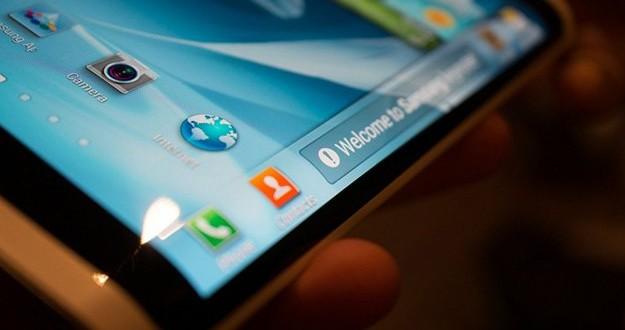 Nuevas pantallas envolventes de Samsung